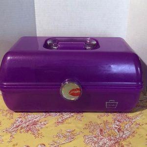 Caboodle purple make up organizer